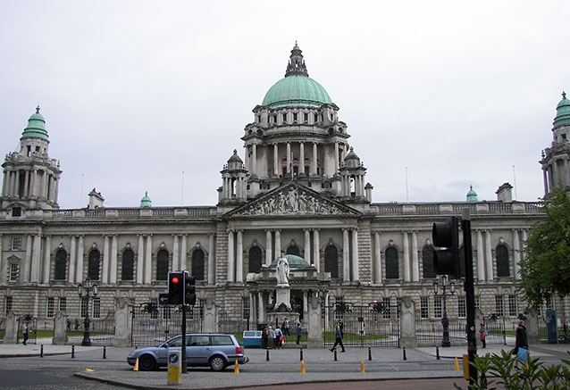 Viaje paisaje escocia irlanda londres Belfast City Hall 2007
