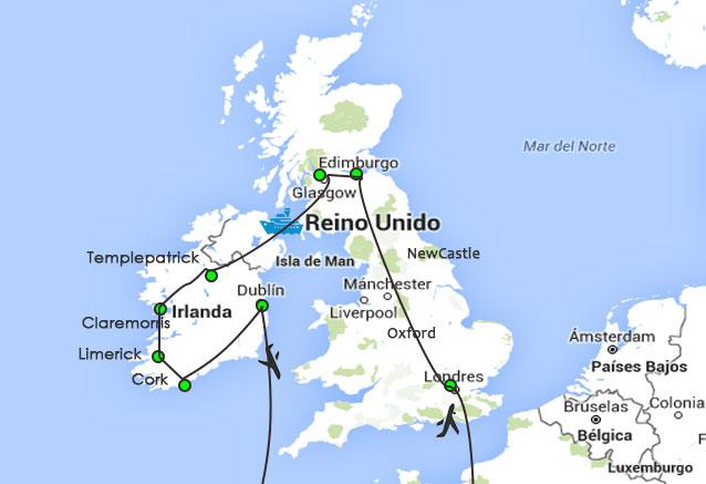 Viaje paisaje escocia irlanda londres inglan and irlanda