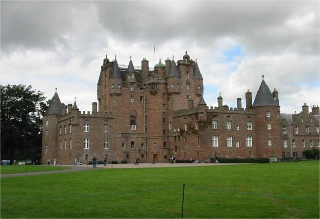 Viaje escocia romantica Castillo de Glamis Escocia