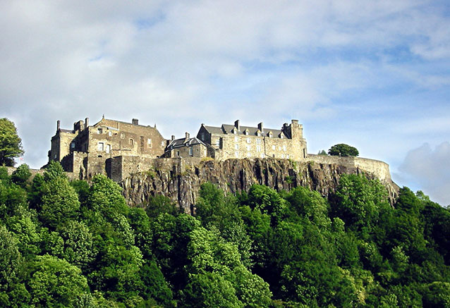 Viaje escocia romantica Stirlingcastle