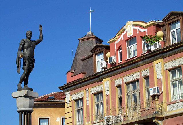 Viaje bulgaria presente pasado Plovdiv