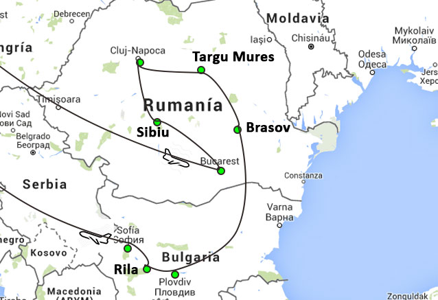 Viaje bulgaria rumania cultural rumania y bulgara