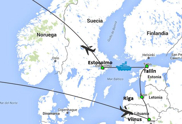 Viaje balticos crucero estocolmo balticos estocolomo