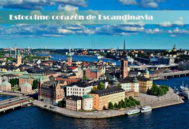 Viaje balticos crucero estocolmo estocolmo corazon