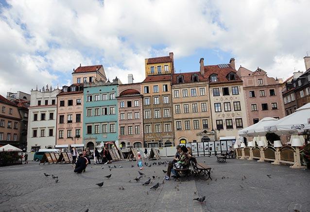Viaje polonia al completo Warszawa