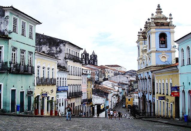 Viaje descubre brasil centro historico salvador