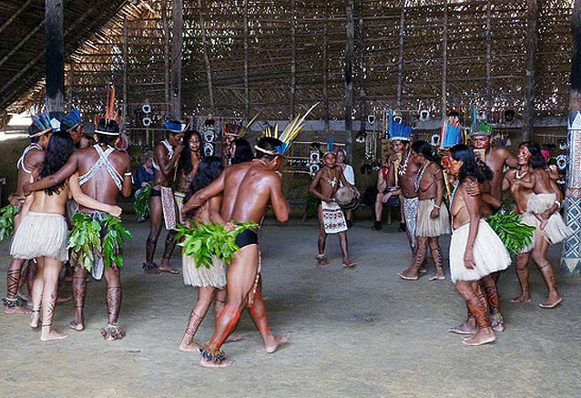 Viaje descubre brasil tribu amazonas