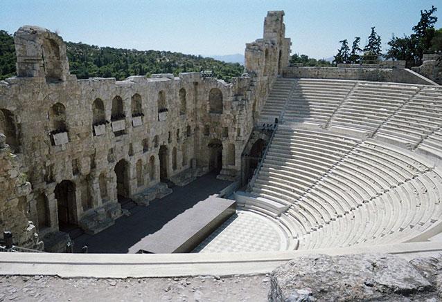 Viaje grecia iconica crucero 3 noches acropolis theater