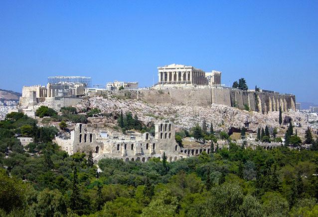 Viaje grecia peloponeso crucero 4 noches la acropolis atenas