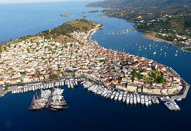 Viaje grecia peloponeso crucero 4 noches poros01