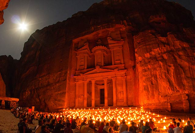 Foto del viaje ofertas egipto jordania desierto Petra Jordania