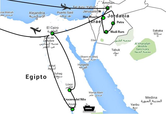 Viaje egipto jordania desierto stacaterina