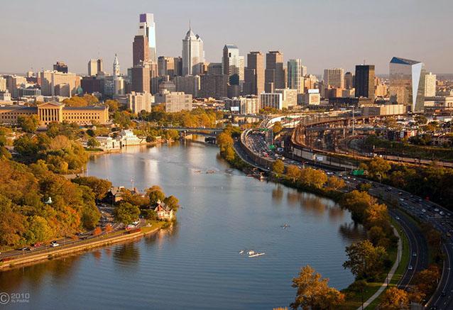 Viaje fantasias del este nueva york 14 dias Philadelphia Skyline by PdaMai