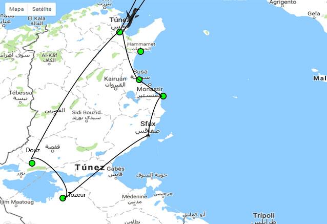 Viaje guerra galaxias tunez version larga tunez