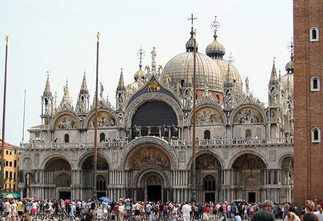 Viaje tour cesar italia Venedig Basilika