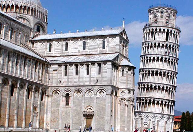 Viaje tour cesar italia torre pisa 2