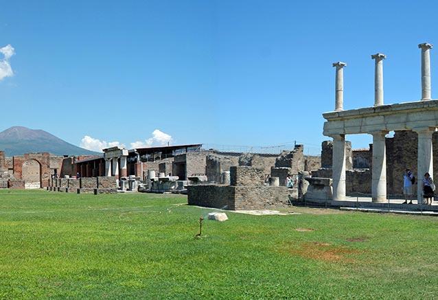 Viaje mini circuito apulia italia pompeii