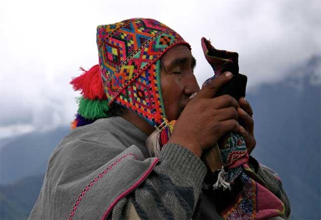 Viaje mundo andino descubre peru peru hombre