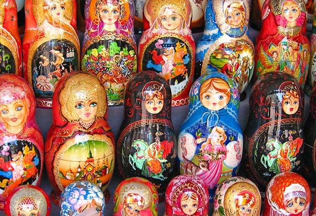Viaje moscu san petersburgo al completo Souvenirs rusos por neiljs