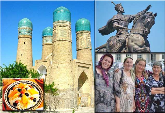 Viaje trans uzbekistan cultural Gentes Uzbecas y Monumentos