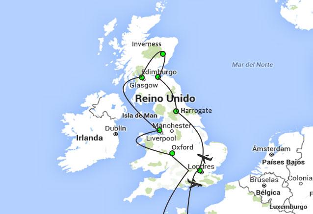 Viaje lo mejor inglaterra escocia lo mejor de uk and escocia