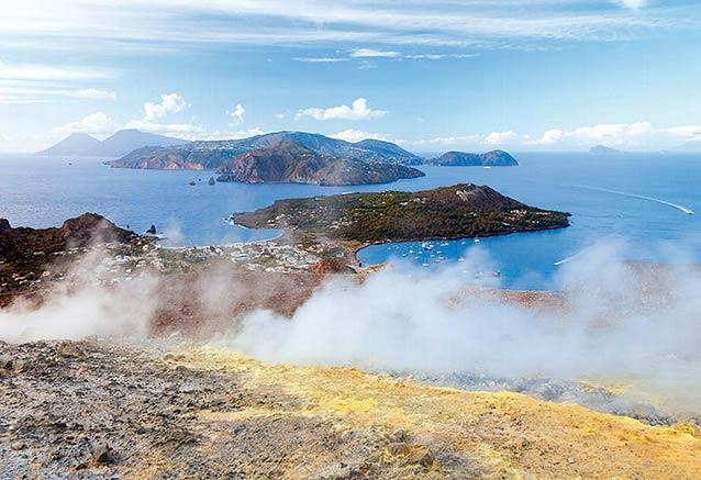 Viaje viaje experiencia islas eolicas Vulcano