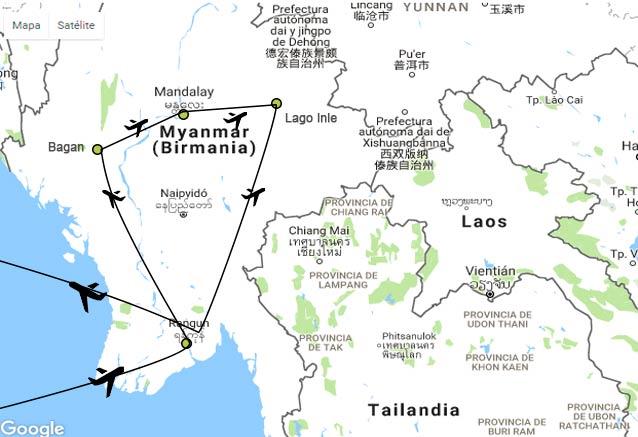Viaje birmania semana esencia de birmania