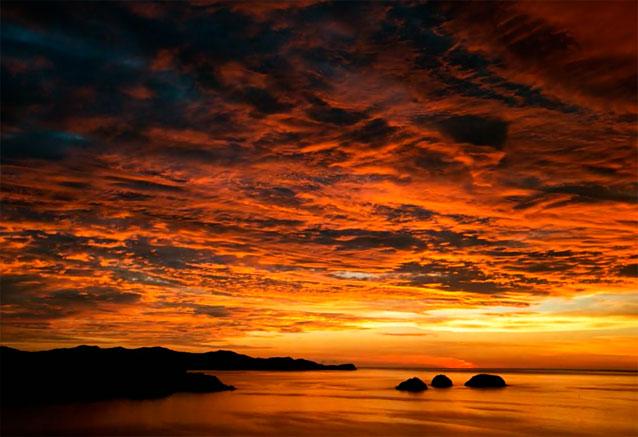 Foto del viaje ofertas aventura tropical costa rica amanecer costa rica