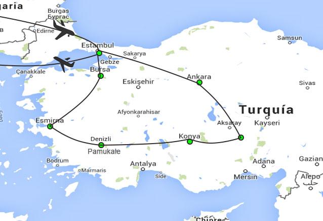 Viaje viaje turquia al completo 8 dias turquia al completo