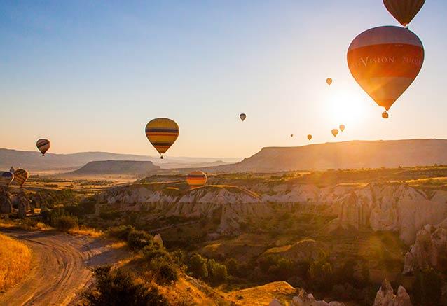Viaje viaje turquia confort 8 dias Vuelo globo Capadocia