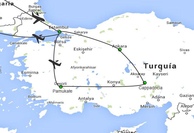 Viaje viaje turquia confort 8 dias turquia confort