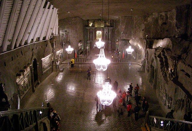 Foto del viaje ofertas capitales polonia Minas de sal de Wieliczka Polonia