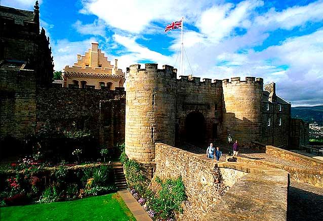 Viaje tesoros escocia 8 dias Castillo de Stirling en Escocia por Scottisch Viewpoint
