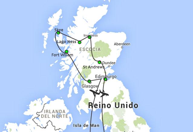 Viaje tesoros escocia 8 dias otro de esocia
