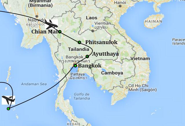 Viaje gran luna miel tailandia maldivas novios tailandia
