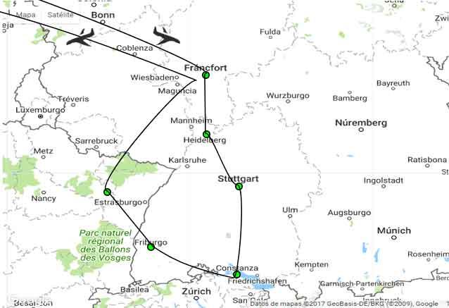 Viaje selva negra alsacia 8 dias alemania la selva negra viaje