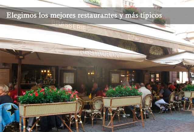 Viaje selva negra alsacia 8 dias restaurante estrasburgo
