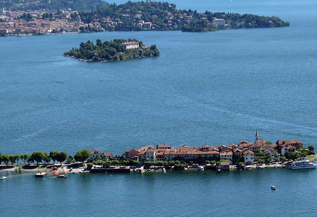 Viaje viaje grandes lagos italianos Lago Maggiore isla
