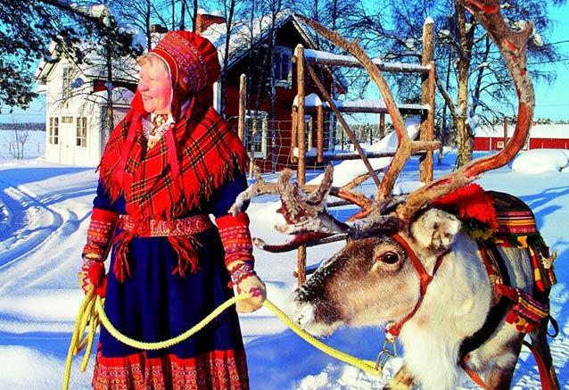 Viaje navidad papa noel finlandia laponia