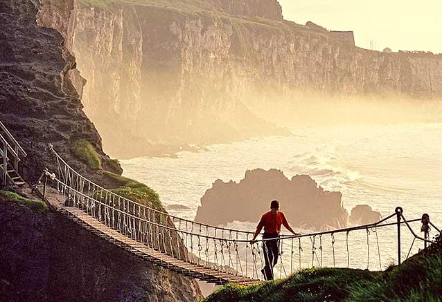 Viaje viaje sabores irlanda norte sur Irlanda Puente de Carrick a Rede por Chris Hill 2009