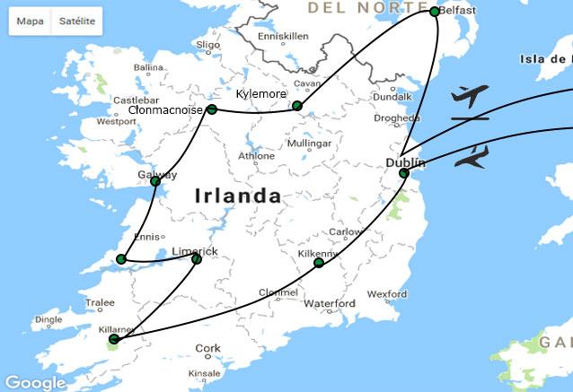 Viaje viaje sabores irlanda norte sur norte and sur