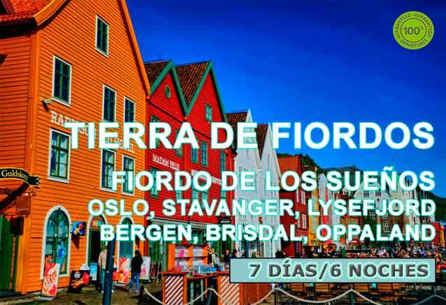 Foto del viaje ofertas fiordos noruegos famosos hermosos TIERRA OF FIORDOS