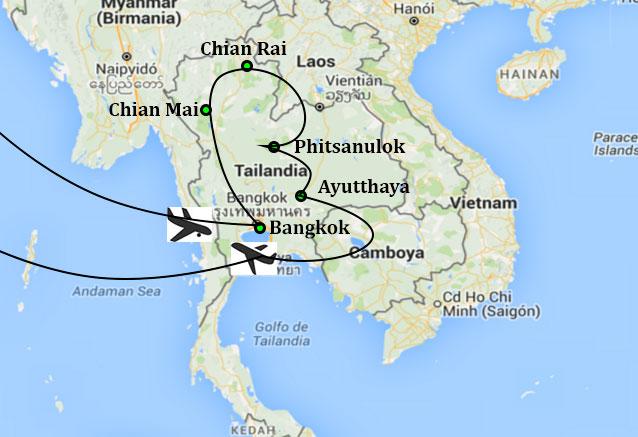 Viaje tailandia norte sur tailandia de norte a sur
