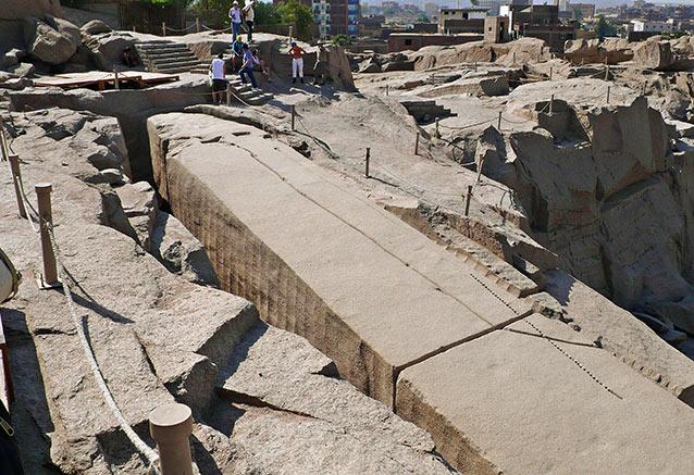 Viaje viaje egipto low cost Obelisco inacabado