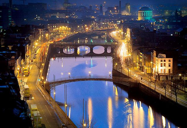 Viaje irlanda unica 8 dias Dublin noche