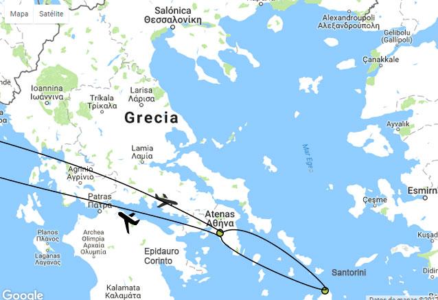 Viaje viaje novios grecia Viaje de novios