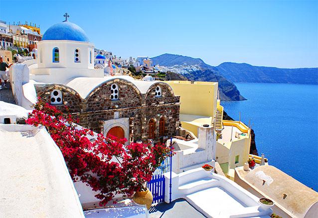 Viaje viaje novios grecia santori