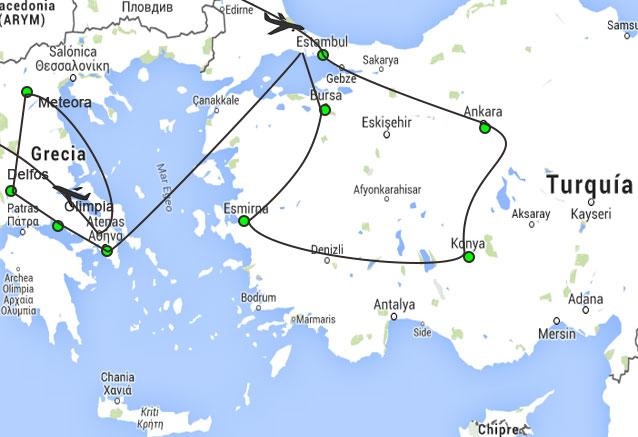 Viaje viaje turquia grecia al completo dos paises