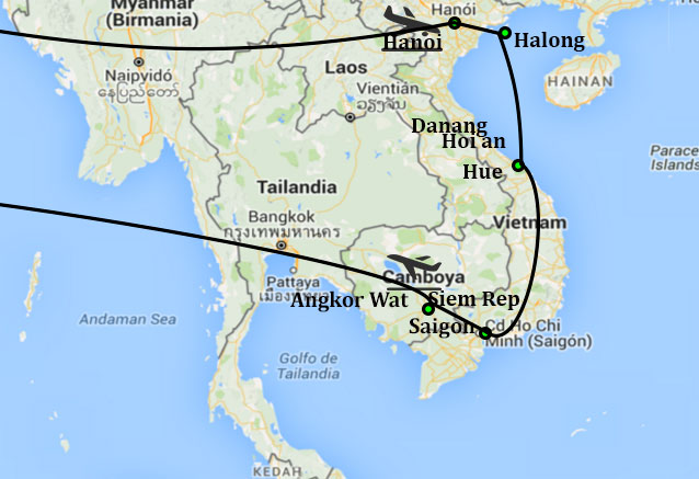 Viaje vietnam clasico camboya vietnam clasico y camboya