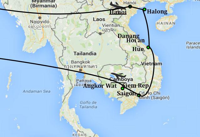 Viaje lo esencial vietnam templos angkor vietnam clasico y camboya